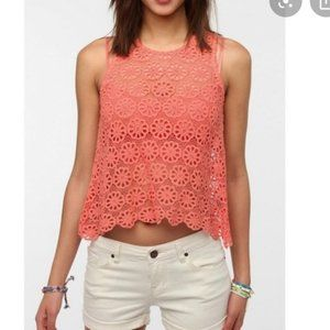 Urban Outfitters Pins & Needles Crochet Top Boho